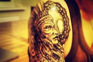 Бадоев изукрасит себя татуировками