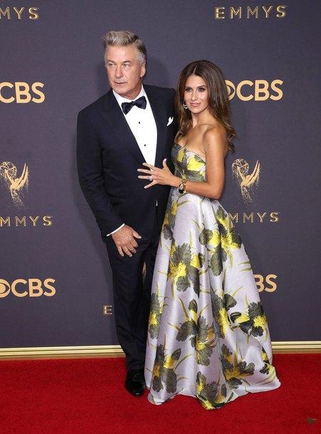 Алек Болдуин с женой