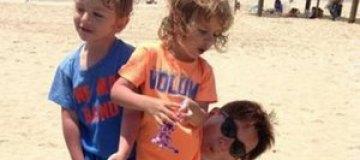 Арбенина опубликовала фото детей