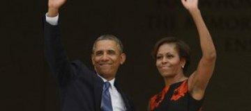 Барак и Мишель Обама почтили память Мартина Лютера Кинга