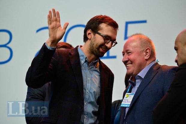Нардеп и экс-журналист Сергей Лещенко заседал в президиуме