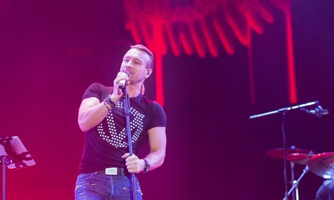 Более 150 тысяч зрителей пришли на фестиваль, чтобы увидеть Олега Винника