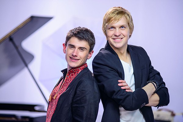 Игорь Грохоцкий и Василий Мищенко