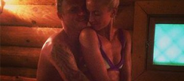 Ольга Бузова показала себя с возлюбленным в бане