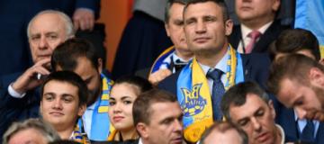 Виталий Кличко, вице-премьер Вячеслав Кириленко, Джамала и чиновники слетали во Францию поболеть за сборную