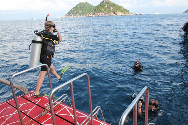 Лавика большую часть времени провела под водой