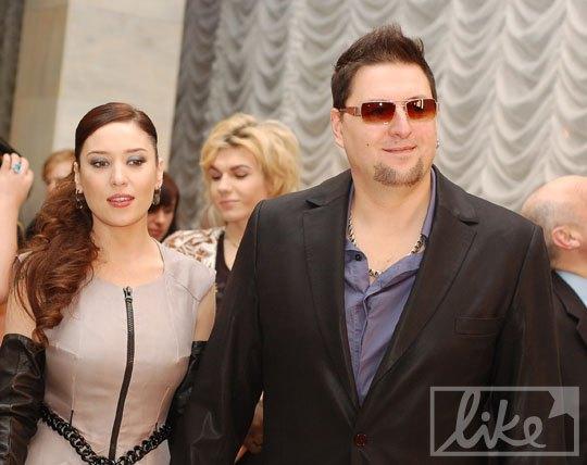 Алена Винницкая и ее муж Сергей Большой