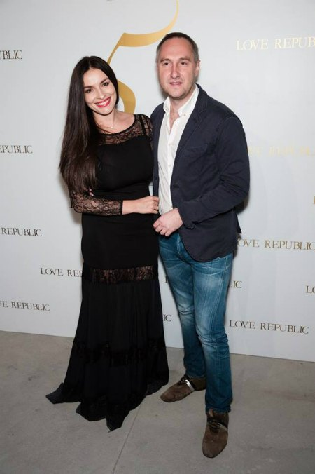 Сексапильная Надя с мужем-бизнесменом Михаилом Уржумцевом