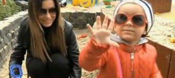 Ани Лорак впервые показала дочь