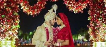 Приянка Чопра и Ник Джонас опубликовали первые свадебные фото