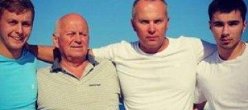 Шуфрич отдохнул на море с отцом и двумя сыновьями