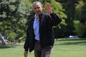 Брака Обаму с детьми атаковали дикие пчелы