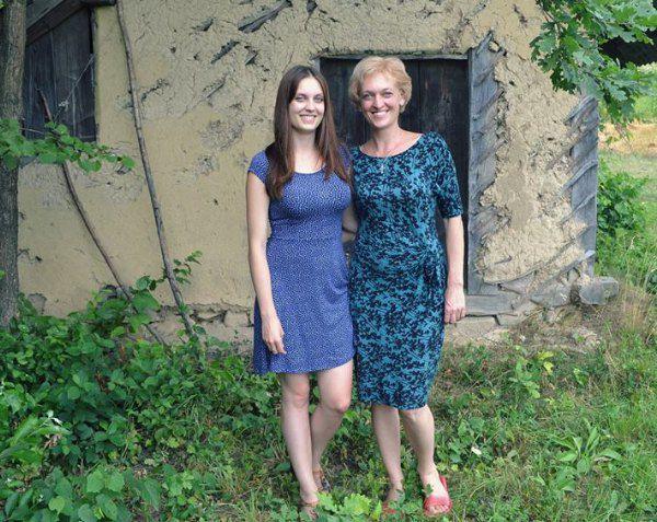 Ярина с мамой