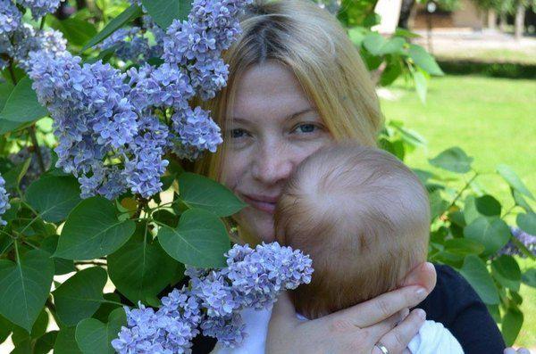 Ирина Геращенко показала маленького сына