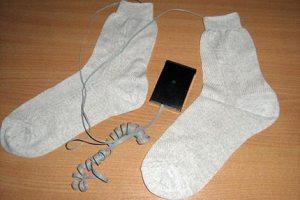 Украинский ученый изобрел носки от бессонницы