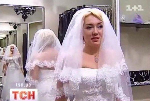 Наталья Розинская остановила свой выбор на платье за 14,5 тыс. грн