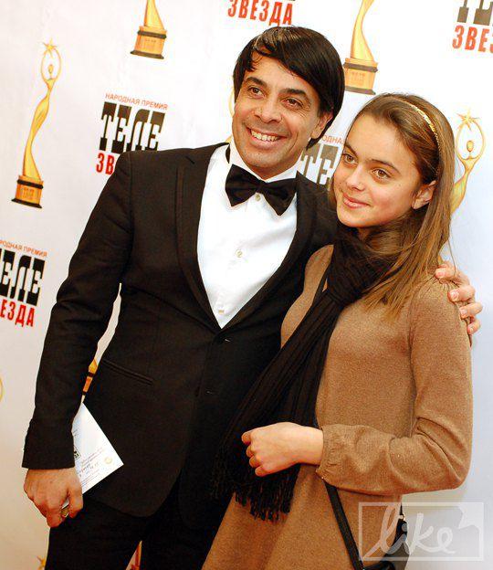 Валид Арфуш с дочерью Лизой