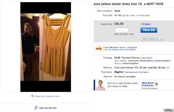 Через время девушка загрузила новую фотографию желтого платья