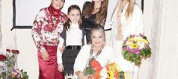 Ольга Сумская поздравила маму с 81-летием