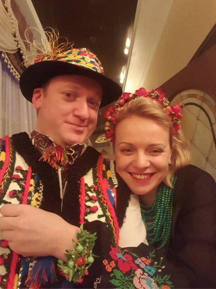 Новый год Виталий и Ирма встречали уже в статусе пары