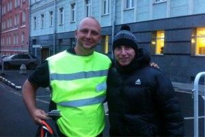 Потап в Москве стал парковщиком