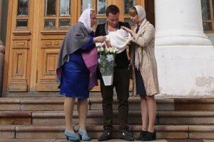 Светлана Пермякова крестила дочь
