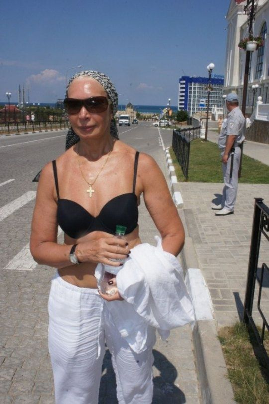 Татьяна Васильева в Севастополе