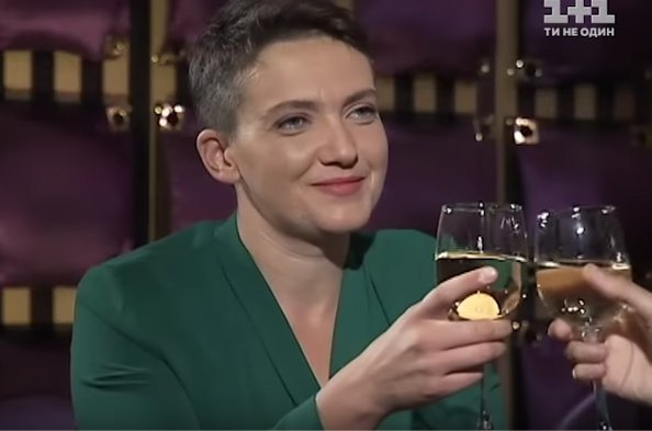 Недавно Савченко в неожиданном для нее гламурном образе рассказала в телешоу о своем отношении к мужчинам