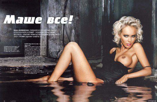 Малиновская открыто признается, что увеличивала грудь