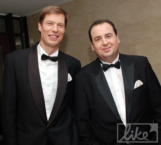 Владимир Данилец (справа) и Владимир Моисеенко