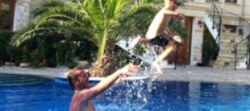 Пономарев с сыном отдохнули на Кипре