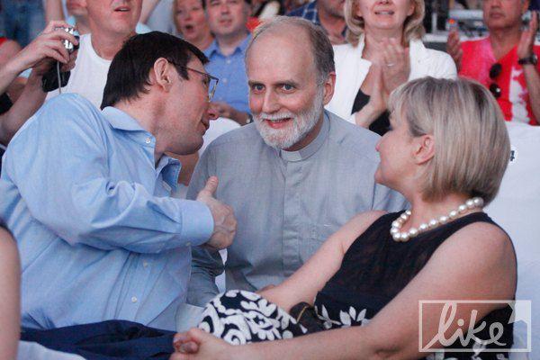 Луценко общался с ректором Украинского Католического университета Борисом Гудзяком