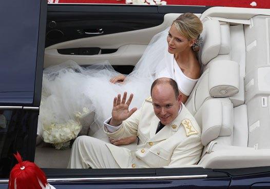 Свадьба Шарлин и Альбера