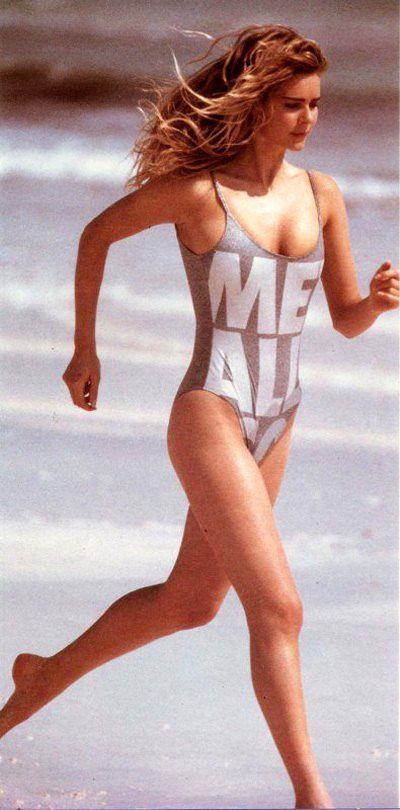 Клэр в начале своей модельной карьеры
