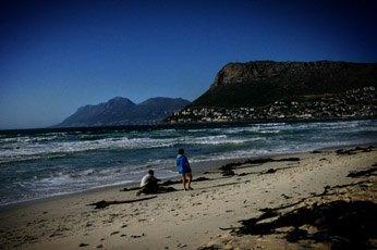 Пляжи Fish Hoek (ЮАР): белые акулы