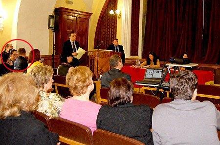 Влада Прокаева на совместном заседании советов заповедника