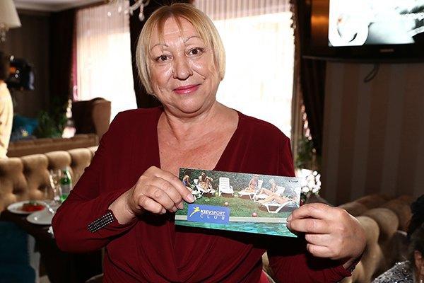 Мама Алены Винницкой