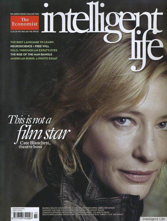 Обложка журнала с Кейт Бланшетт