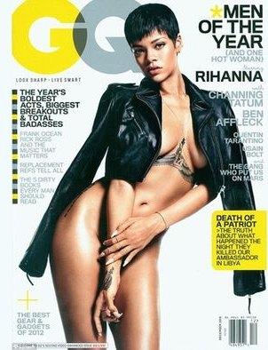 Рианна украила обложку декабрьского номера GQ