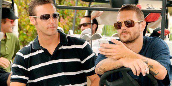 Кристофер Федерлайн (слева) заявил, что он отец сына Бритни Спирс
