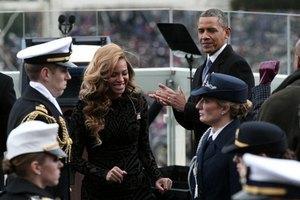 Бейонсе обвинили в пении под фонограмму на инаугурации Обамы