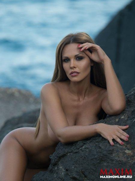 Мария Горбань разделась на нудистском пляже в Крыму
