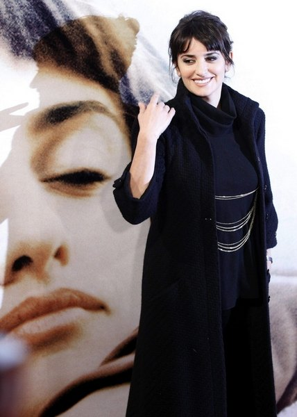 Пенелопа Круз на презентации фильма 10 февраля