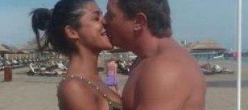 Владимир Самсоненко с Сантой на пляже