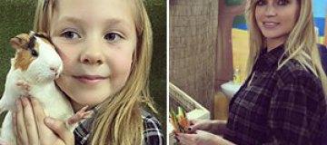 Глюкоза с детьми посетила контактный зоопарк