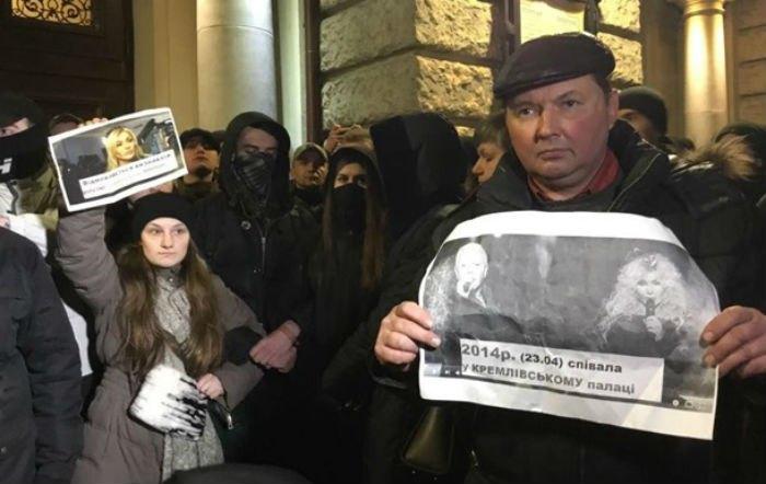 Активисты протестовали против концерта Ирины Билык