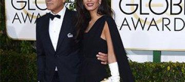 Джордж Клуни с женой поддержали протесты во Франции после теракта
