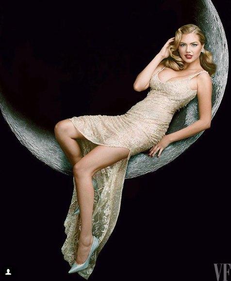 25-летняя Кейт Аптон прочно завоевала позиции в модельном мире