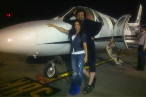 Киркоров прокатил Лорак на самолете