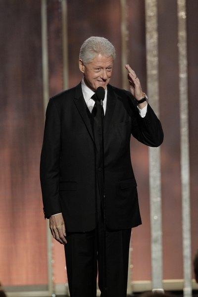 Бывший президент США Билл Клинтон принял участие в церемонии